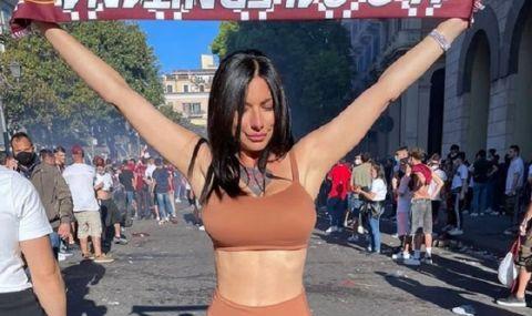Порнозвезда е една от най-големите фенки на новак в Серия А (СНИМКИ)