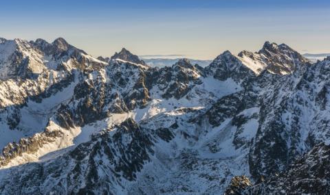 Алпинисти замръзнаха в Татрите
