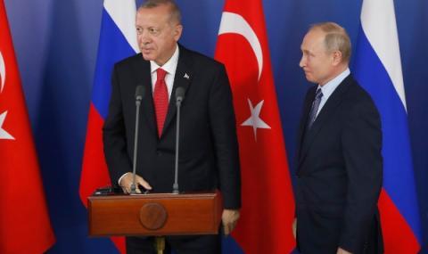 Ердоган с призив към Путин