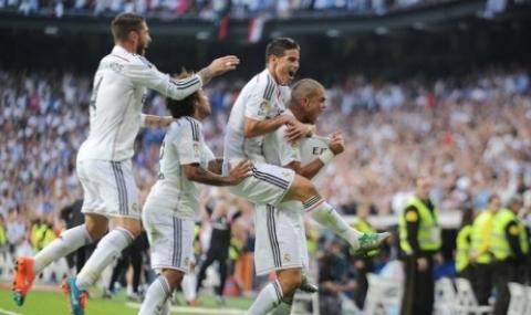 Реал Мадрид се завърна към победите
