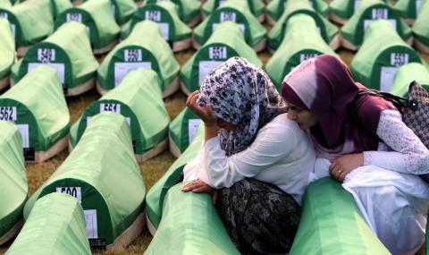 Съдят Нидерландия заради Сребреница