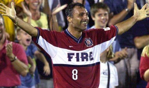 Христо Стоичков попадна в топ 20 на най-известните в историята на MLS