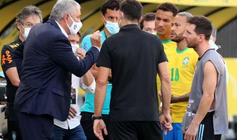 Лео Меси е бесен! Съдбата на мача Бразилия - Аржентина в ръцете на ФИФА! - 1