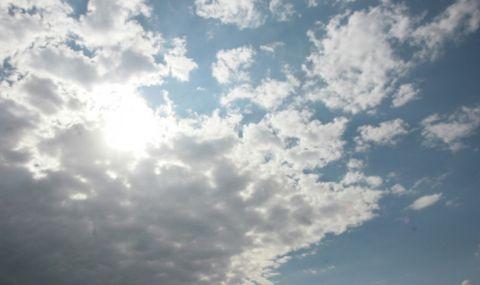 Слънцето пробива облаците