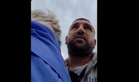 Млад мъж от Варна спаси възрастна жена от самоубийство на Аспаруховия мост (ВИДЕО)