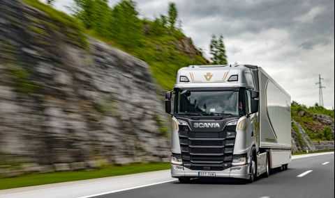 Scania ще тества автономни камиони по европейска магистрала