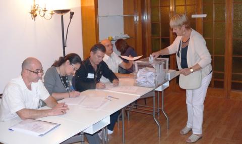 77 059 души са гласували зад граница към 19:00 часа