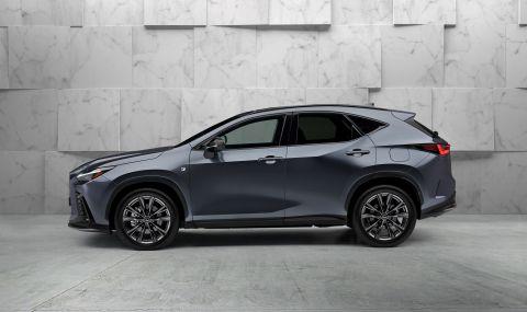 Lexus показа обновения NX с първото за марката plug-in хибридно задвижване - 5