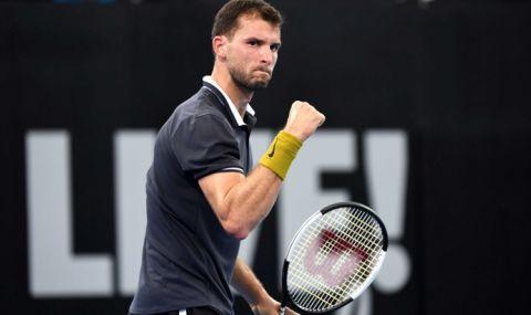 Григор Димитров стартира Австралия Оупън срещу шампион от Големия шлем