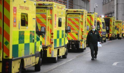 Извън контрол! Великобритания регистрира рекорден брой починали и заразени
