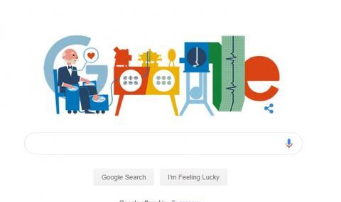 Google припомня за създателя на първия електрокардиограф - Вилем Ейнтховен