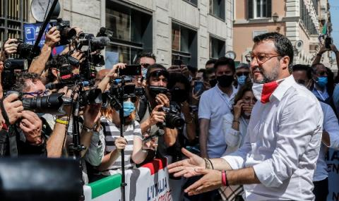 Протест в Италия