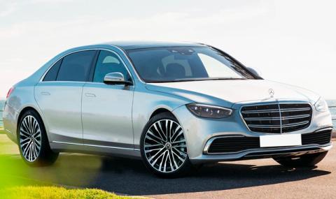 Ето каква ще е новата S-Klasse на Mercedes