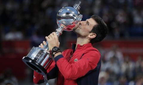 Джокович си спомни за първия си турнир по тенис