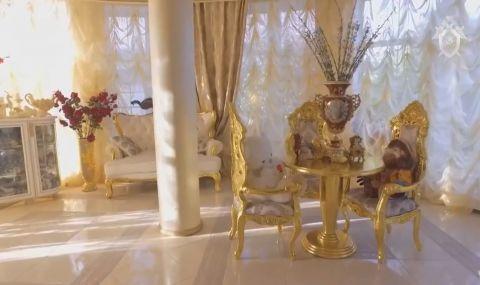Катаджия се обзаведе със златни мебели - 1