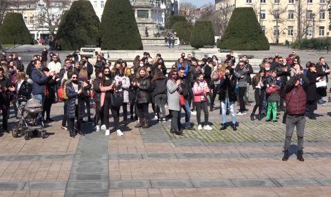 Ресторантьори и хотелиери от Русе излязоха на протест