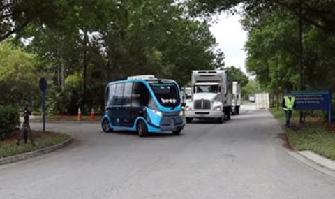 Автономните  превозни средства помагат в борбата с вируса (ВИДЕО)