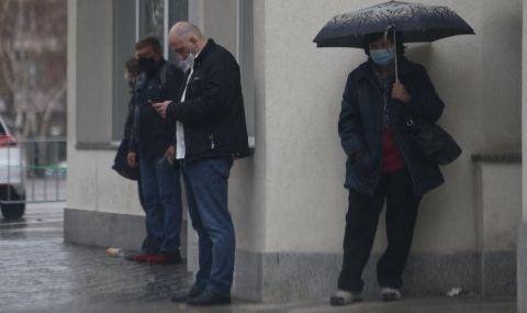 Априлска градушка в София