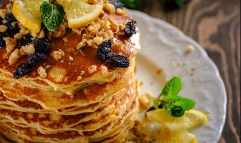 Рецепта на деня: Палачинки с извара и стафиди - 1