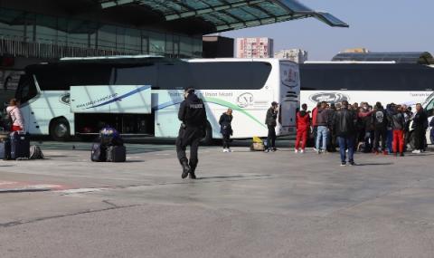 Централна автогара в София затвори до вторник
