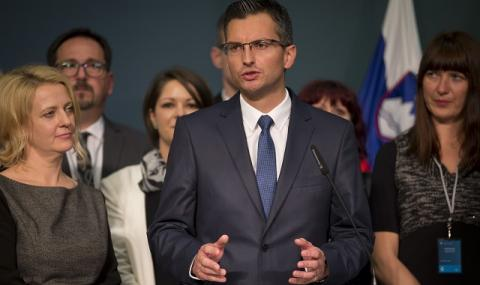 Бивш комик стана премиер на Словения