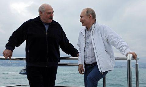 Путин подкрепи Лукашенко за инцидента с приземения самолет
