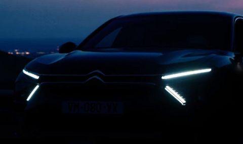 Практичност на хечбек с клиренс на SUV: Citroen показа видео с новия C5