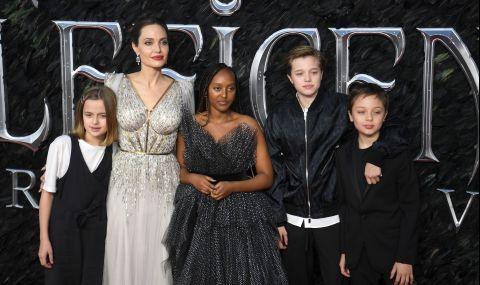Анджелина Джоли изненада с лично признание за Брад Пит и децата им