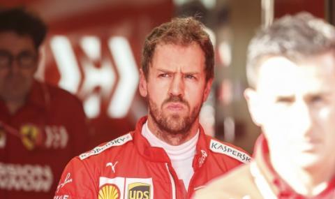 Фетел е аут от Ferrari, замества го Алонсо