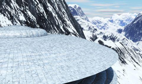 Открити два НЛО в Антарктида (ВИДЕО)