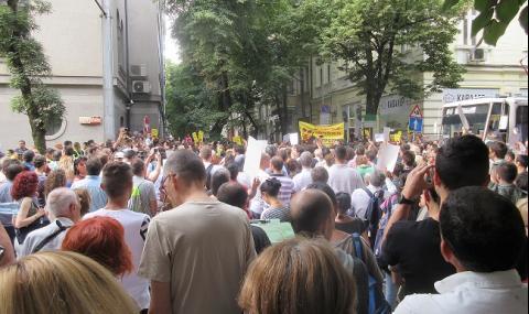 Гешев за протеста: Една шепа хора, лъха безсилна злоба