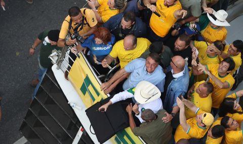 Хиляди на протест в Бразилия - 1
