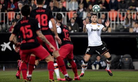 Валенсия и Атлетико (Мадрид) си спретнаха голово реми