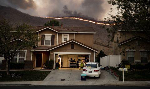 Опустошителен горски пожар в щата Орегон разруши десетки домове