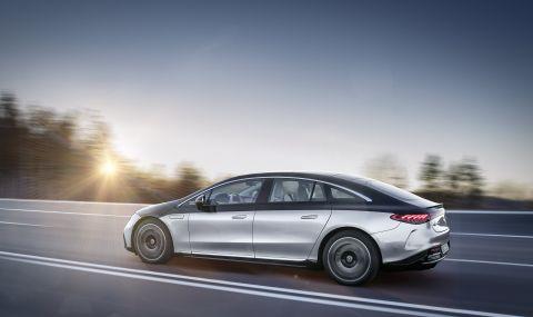 Mercedes представи електрическата S-Klasse - 8