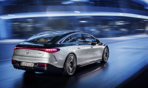 Mercedes представи електрическата S-Klasse - 9
