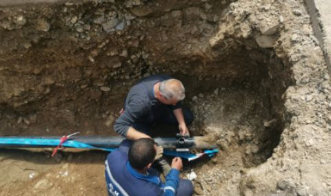 Ремонт създава проблем с водоснабдяването на Ямбол