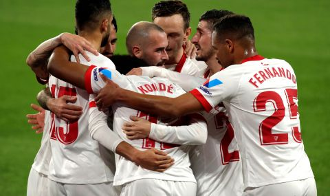 Севиля взе сериозен аванс срещу Барселона за Купата на Испания