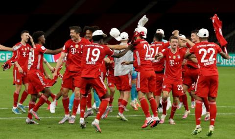 Байерн Мюнхен започна новия сезон в Бундеслигата повече от убедително