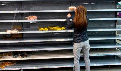 Пингдемия: защо свършиха храните в магазините във Великобритания - 1