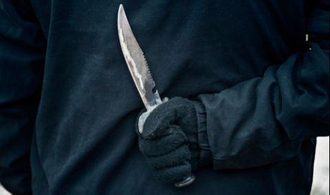 """Задържаха крадец, заплашил с нож двама души на бул. """"Витоша"""" - 1"""