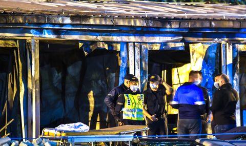 Няма загинали българи при пожара в Тетово - 1