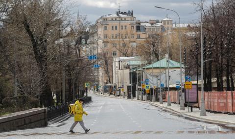 Черен ден в Русия: Близо 2200 заразени само за денонощие