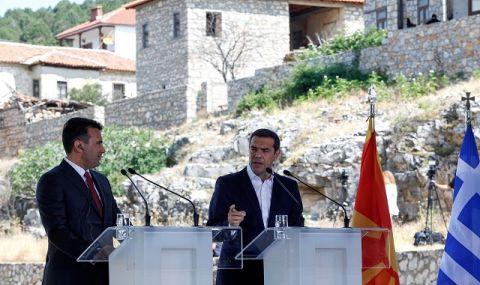 Гърция протестира: Не сме доволни от начина, по който Скопие изпълнява Преспанския договор! - 1