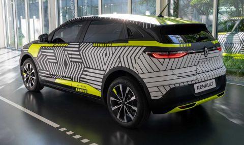 Renaultпредстави електрическиMeganeс 217 конски сили - 4