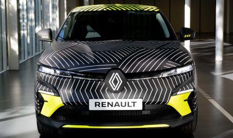 Renaultпредстави електрическиMeganeс 217 конски сили - 5