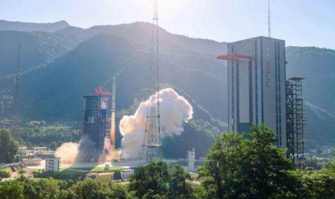 Китай тества технология за контролирано спускане на ракетни сегменти - 1