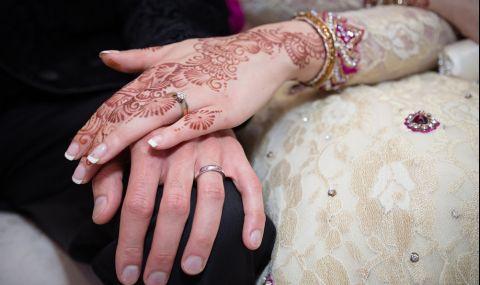 Булка заби шамар на младоженеца по време на сватбата (ВИДЕО) - 1