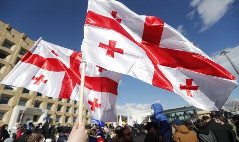 Хиляди на протест в Грузия