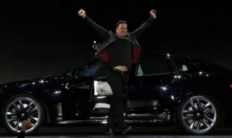 Някои тайни и номера на Мъск, заради които Tesla Model S Plaid е толкова бърза - 1